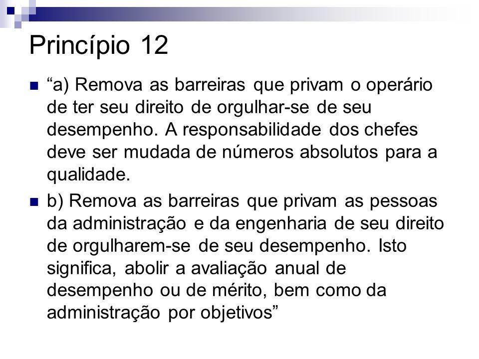 Princípio 12