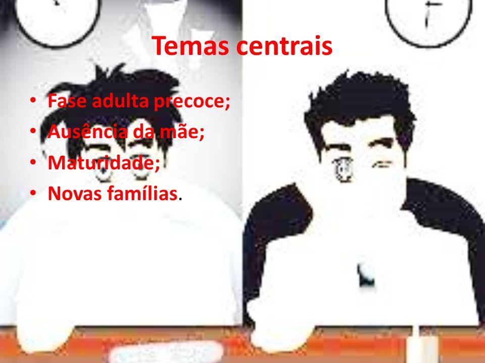 Temas centrais Fase adulta precoce; Ausência da mãe; Maturidade;