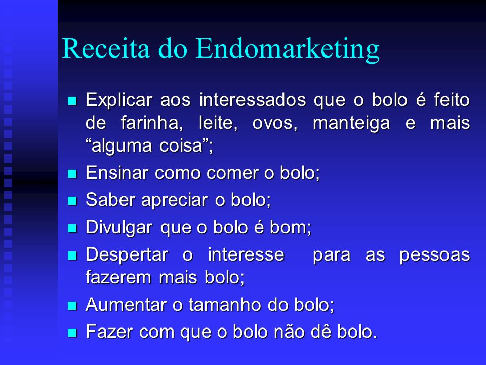 Receita do Endomarketing