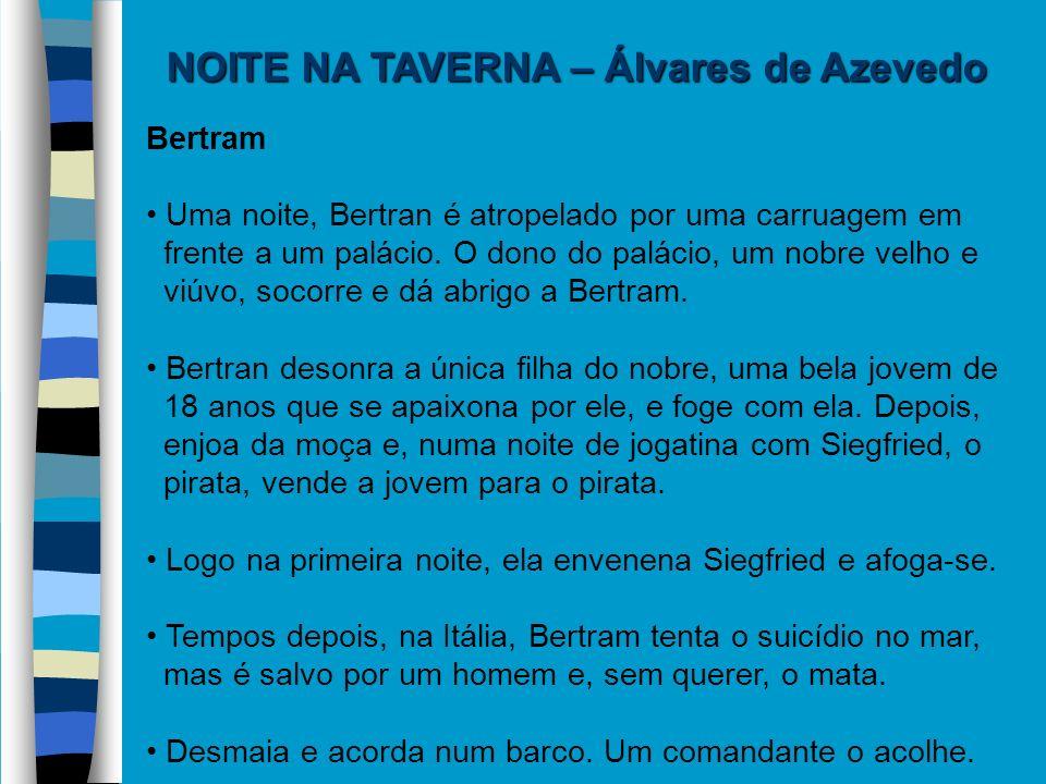 NOITE NA TAVERNA – Álvares de Azevedo