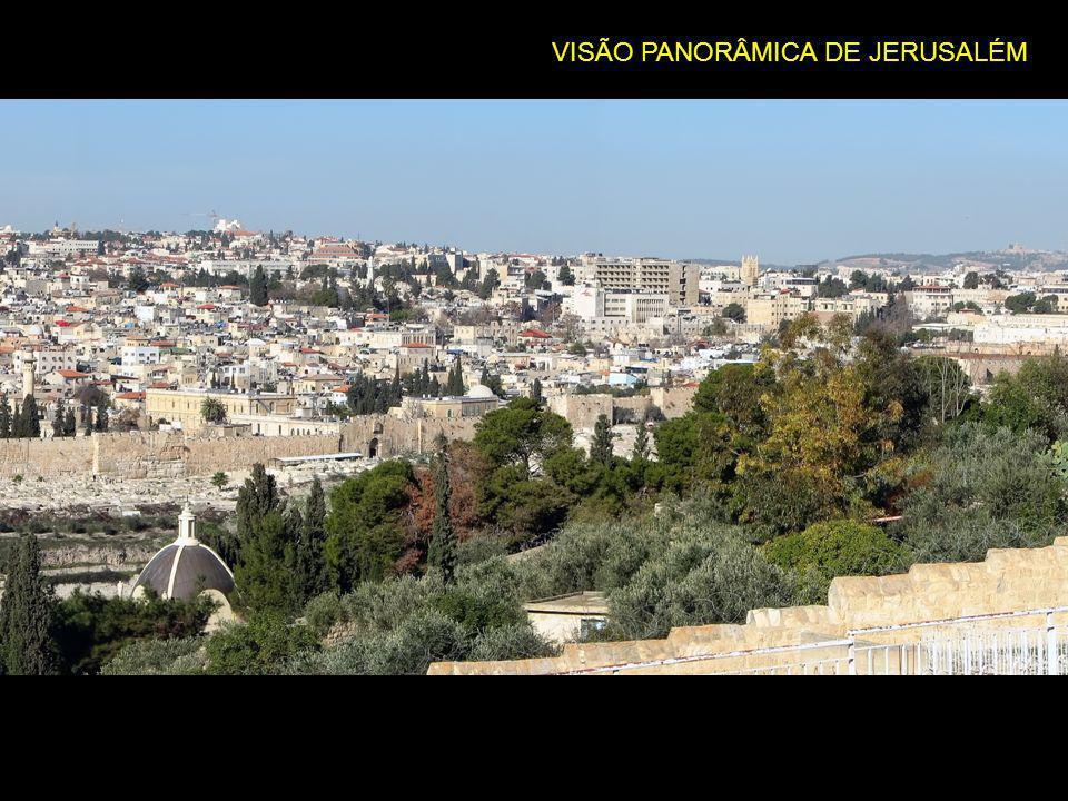 VISÃO PANORÂMICA DE JERUSALÉM