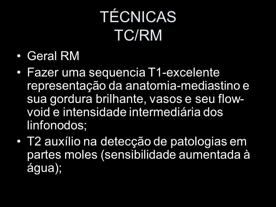 TÉCNICAS TC/RM Geral RM