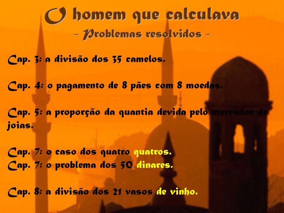 - Problemas resolvidos -