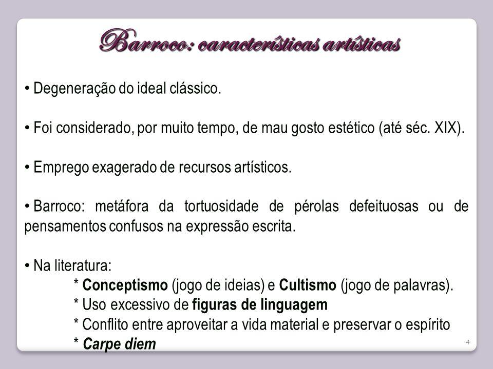 Barroco: características artísticas