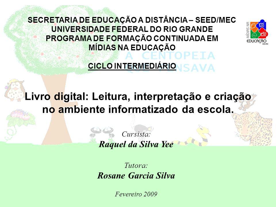 SECRETARIA DE EDUCAÇÃO A DISTÂNCIA – SEED/MEC