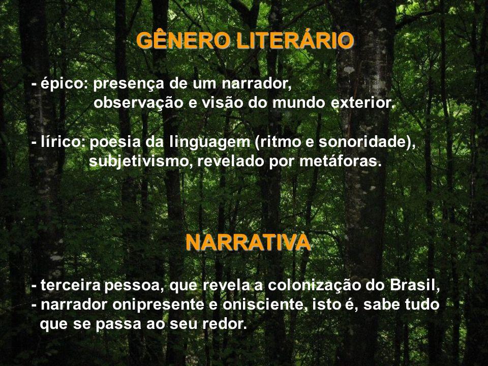 GÊNERO LITERÁRIO NARRATIVA