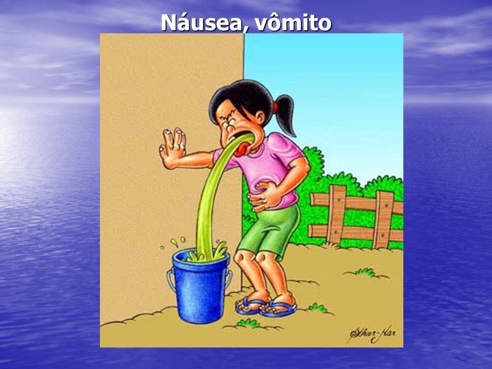Náusea, vômito