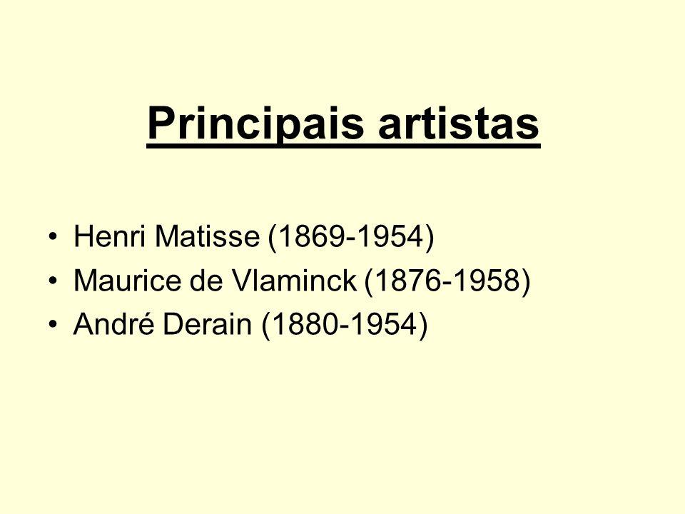 Principais artistas Henri Matisse (1869-1954)