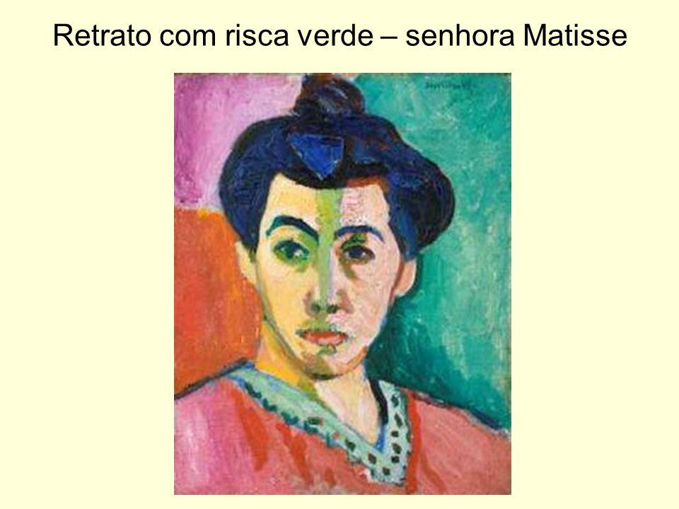 Retrato com risca verde – senhora Matisse
