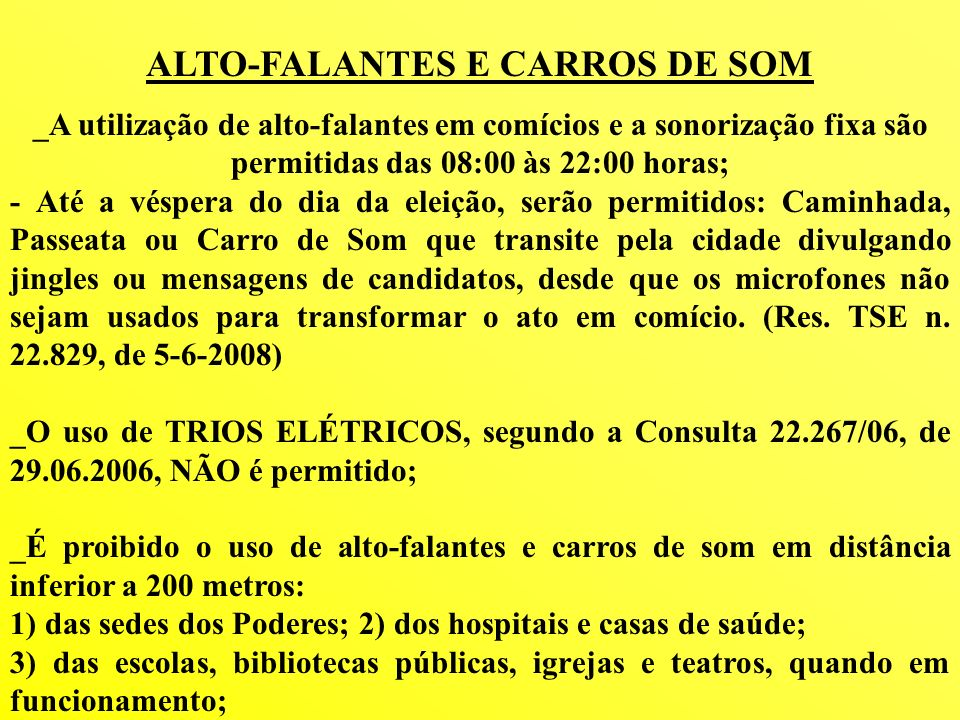 ALTO-FALANTES E CARROS DE SOM