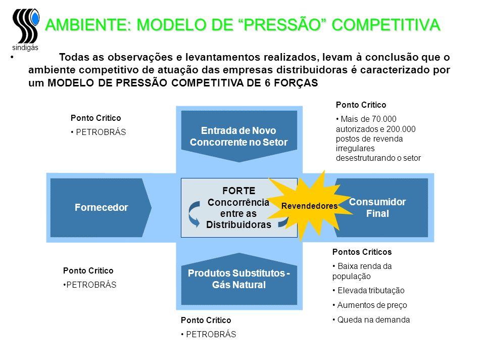 AMBIENTE: MODELO DE PRESSÃO COMPETITIVA