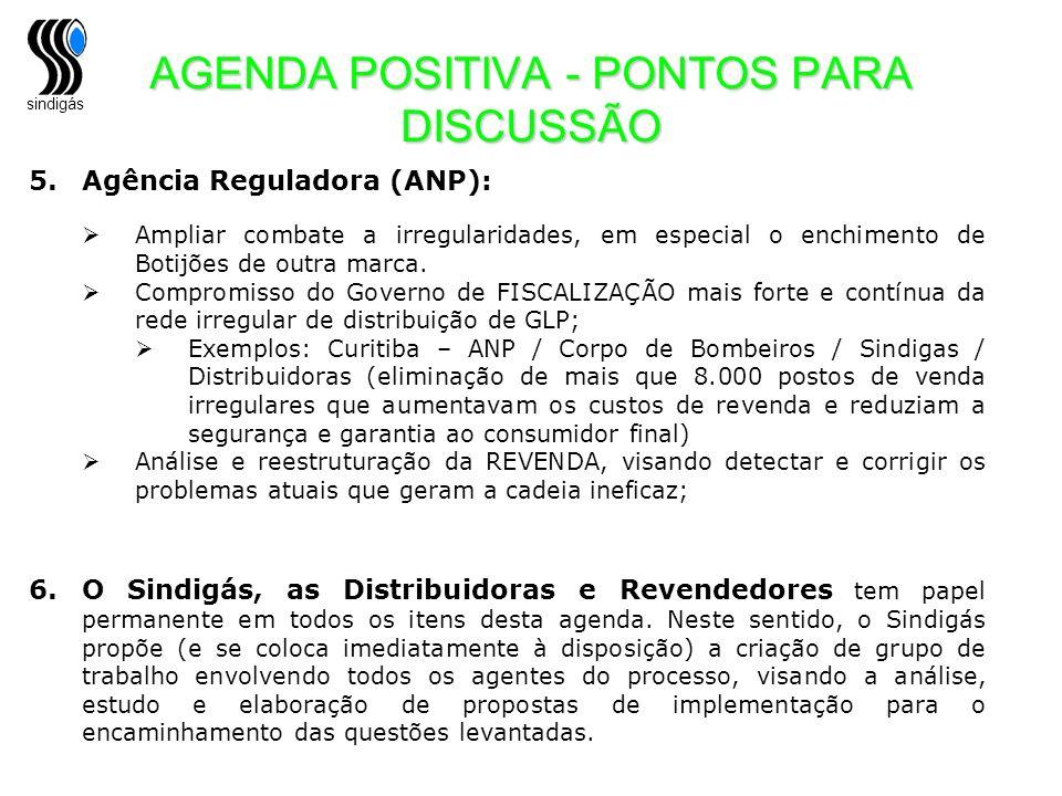AGENDA POSITIVA - PONTOS PARA DISCUSSÃO