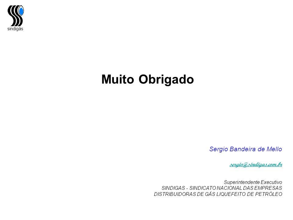 Muito Obrigado Sergio Bandeira de Mello sergio@sindigas.com.br
