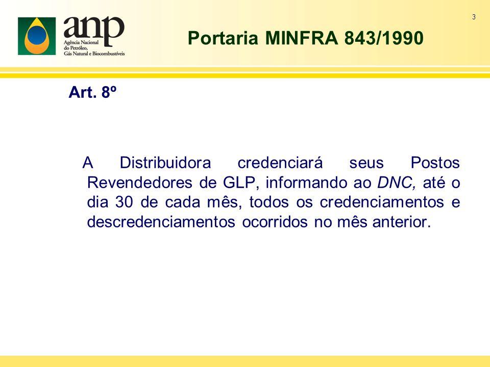 Portaria MINFRA 843/1990