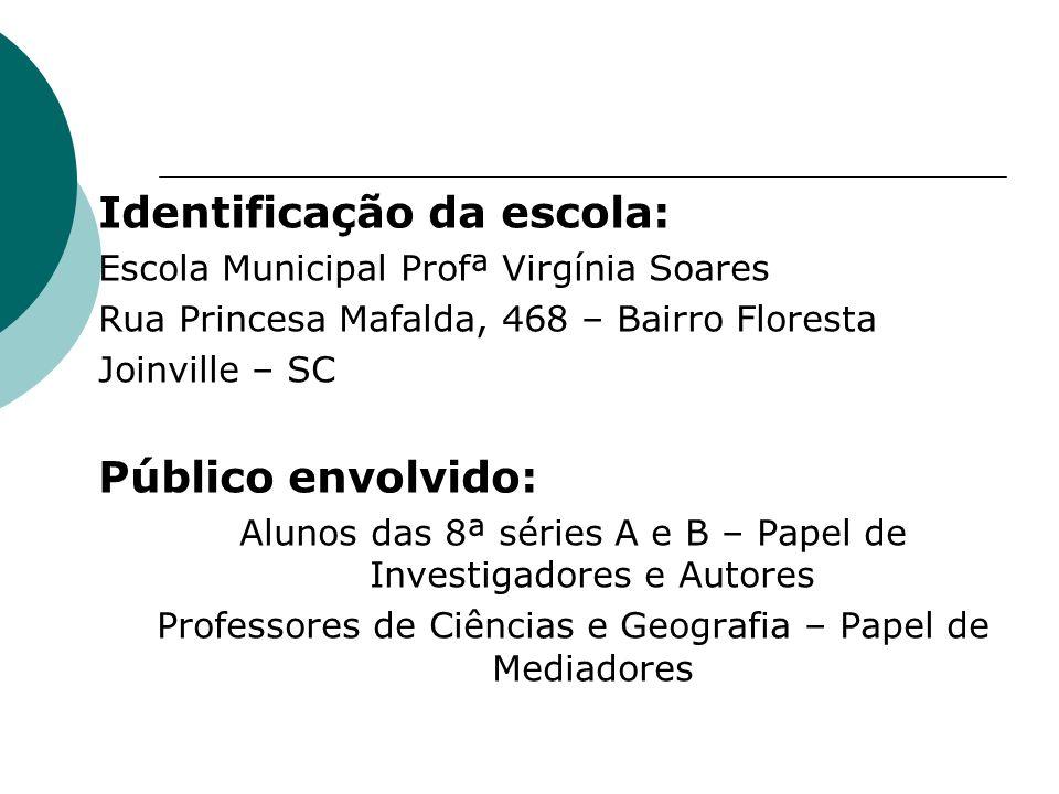Identificação da escola: