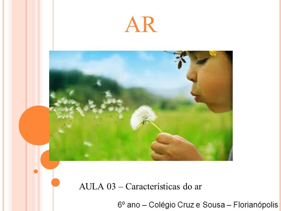 AULA 03 – Características do ar
