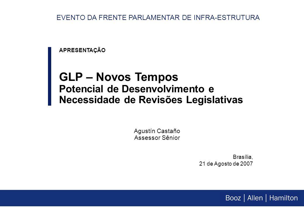 A percepção do posicionamento atual do GLP no Brasil prejudica o desenvolvimento de seu potencial de mercado