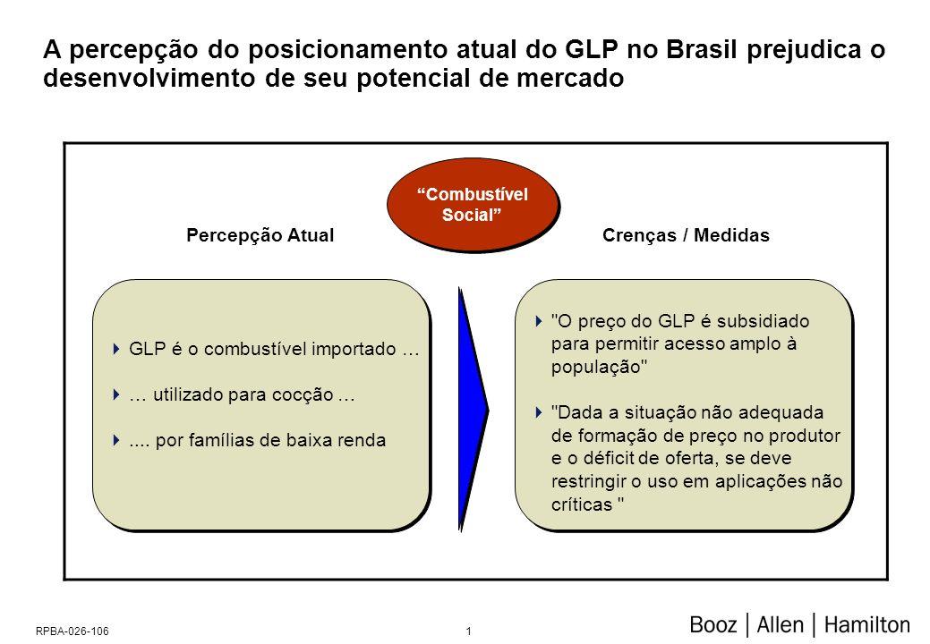Na realidade, o GLP exerce há muitos anos papel importante no uso energético da Sociedade, abastecendo 90% dos domicílios brasileiros, em todas as classes socio-econômicas