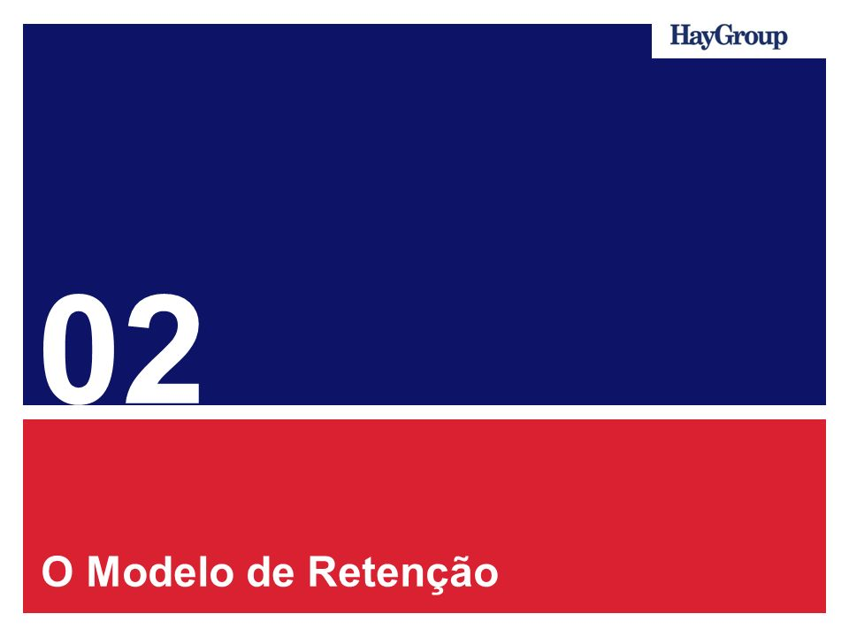 02 O Modelo de Retenção