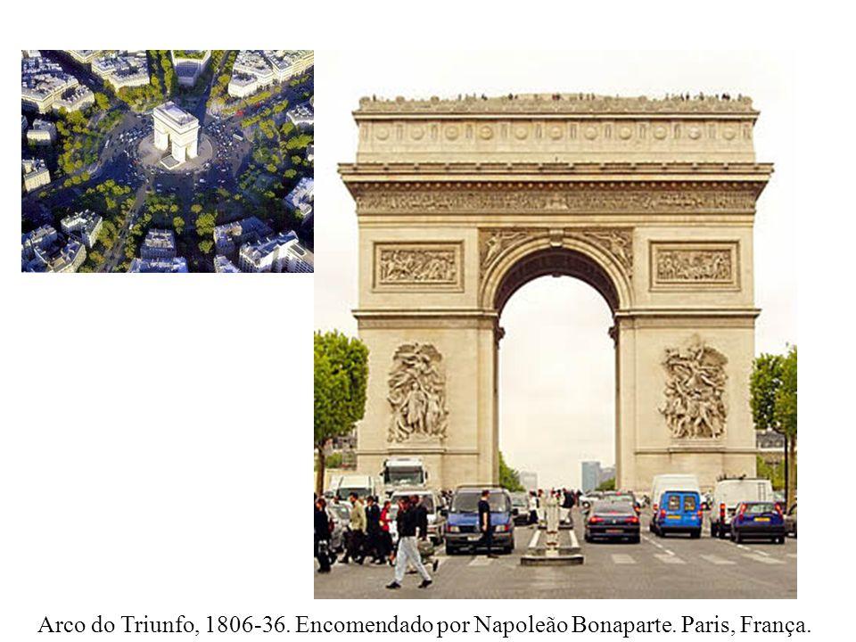 Arco do Triunfo, 1806-36. Encomendado por Napoleão Bonaparte