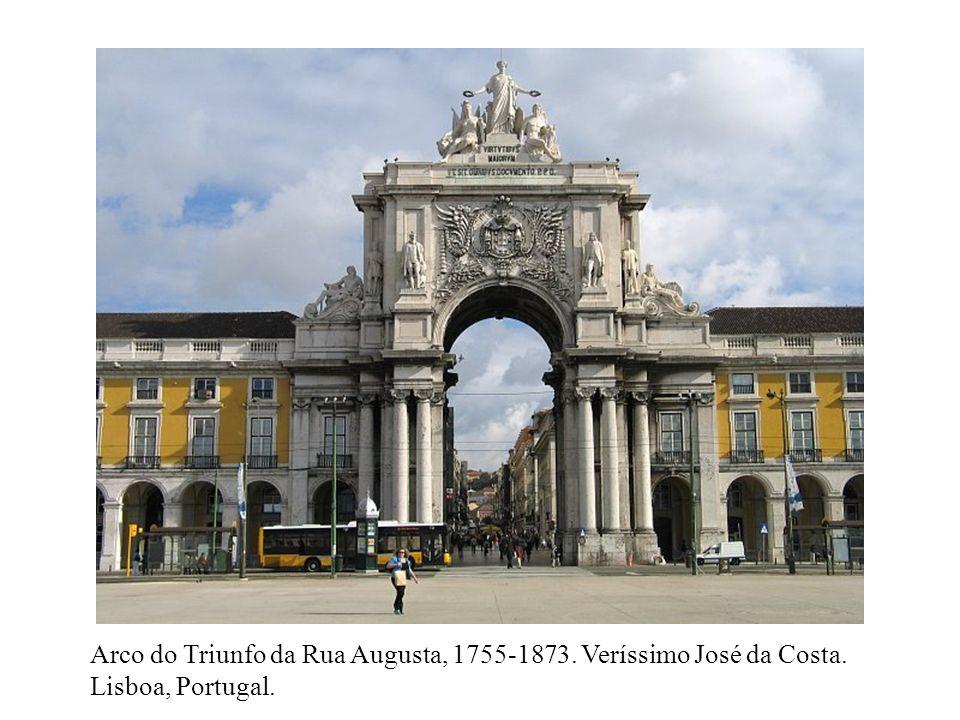 Arco do Triunfo da Rua Augusta, 1755-1873. Veríssimo José da Costa.