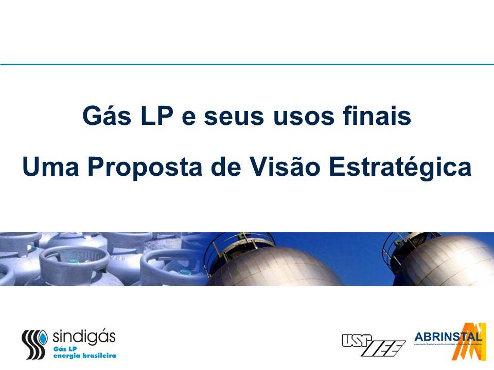 Gás LP e seus usos finais Uma Proposta de Visão Estratégica