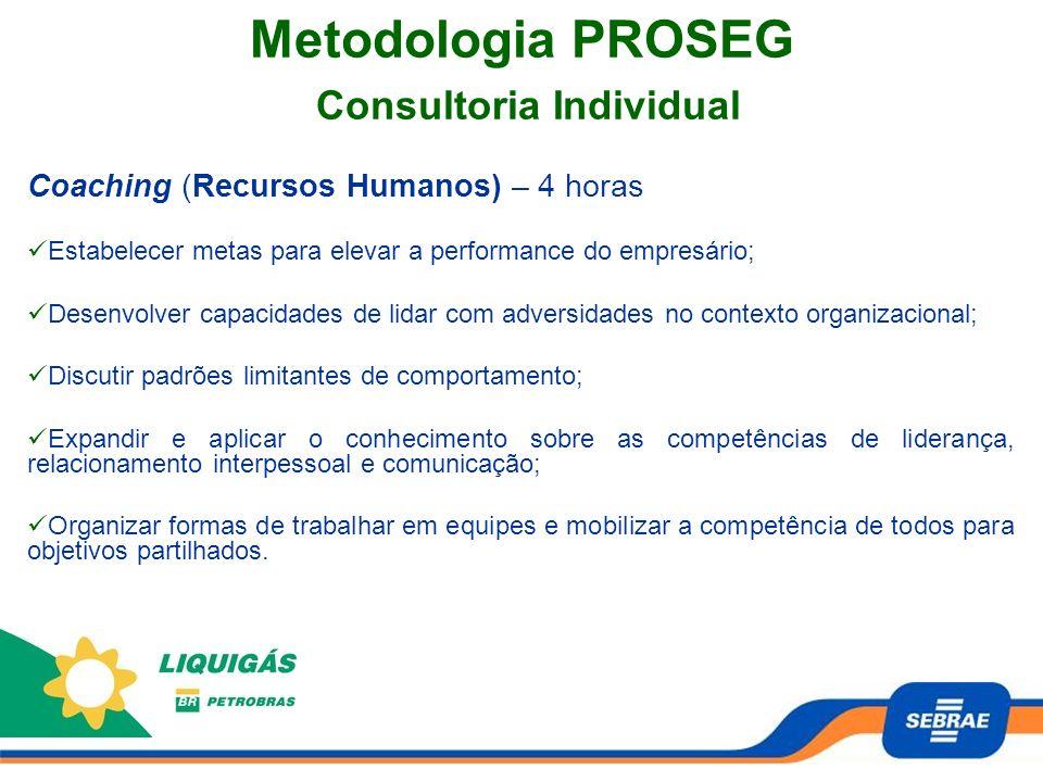 Metodologia PROSEG Consultoria Individual