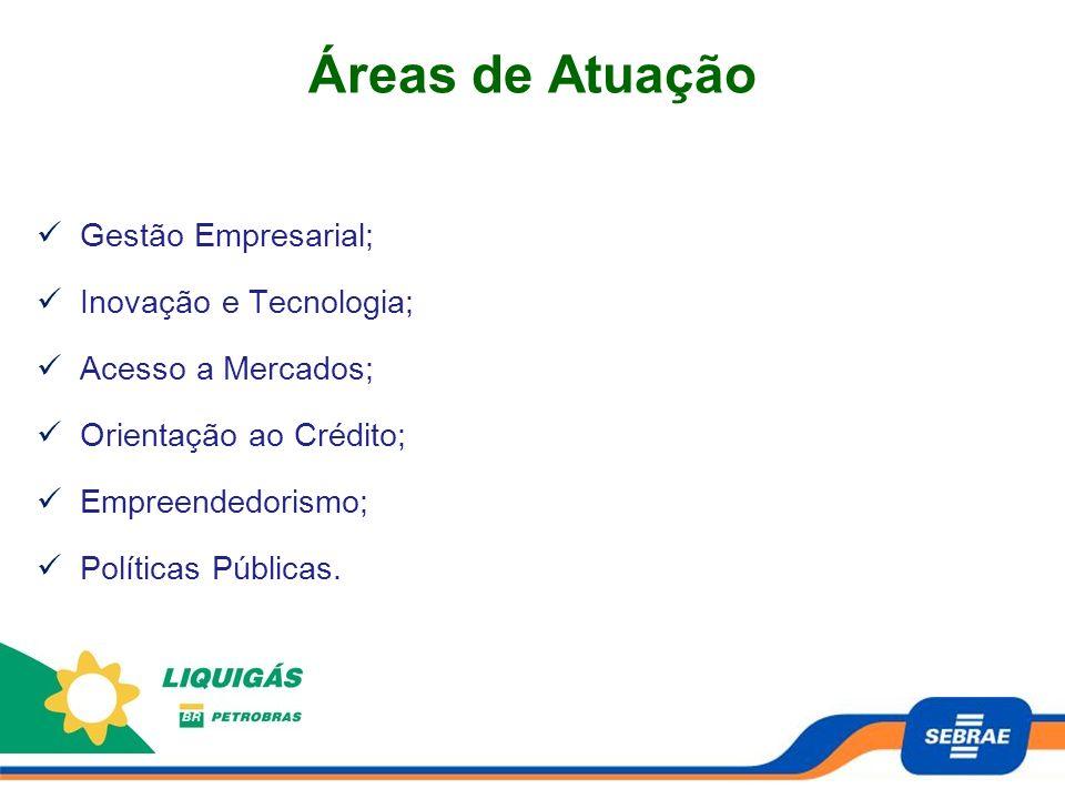 Áreas de Atuação Gestão Empresarial; Inovação e Tecnologia;