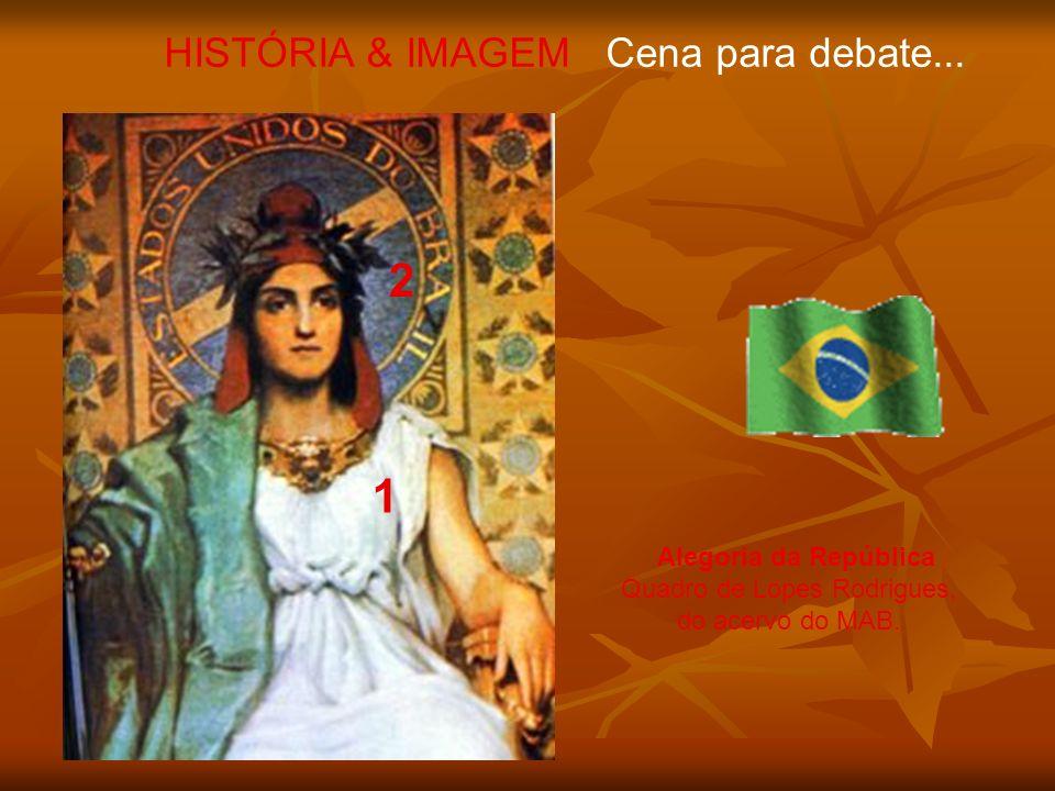 2 1 HISTÓRIA & IMAGEM Cena para debate...