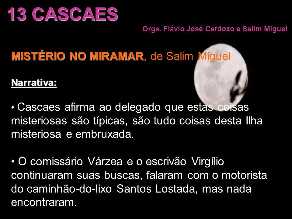 13 CASCAES MISTÉRIO NO MIRAMAR, de Salim Miguel