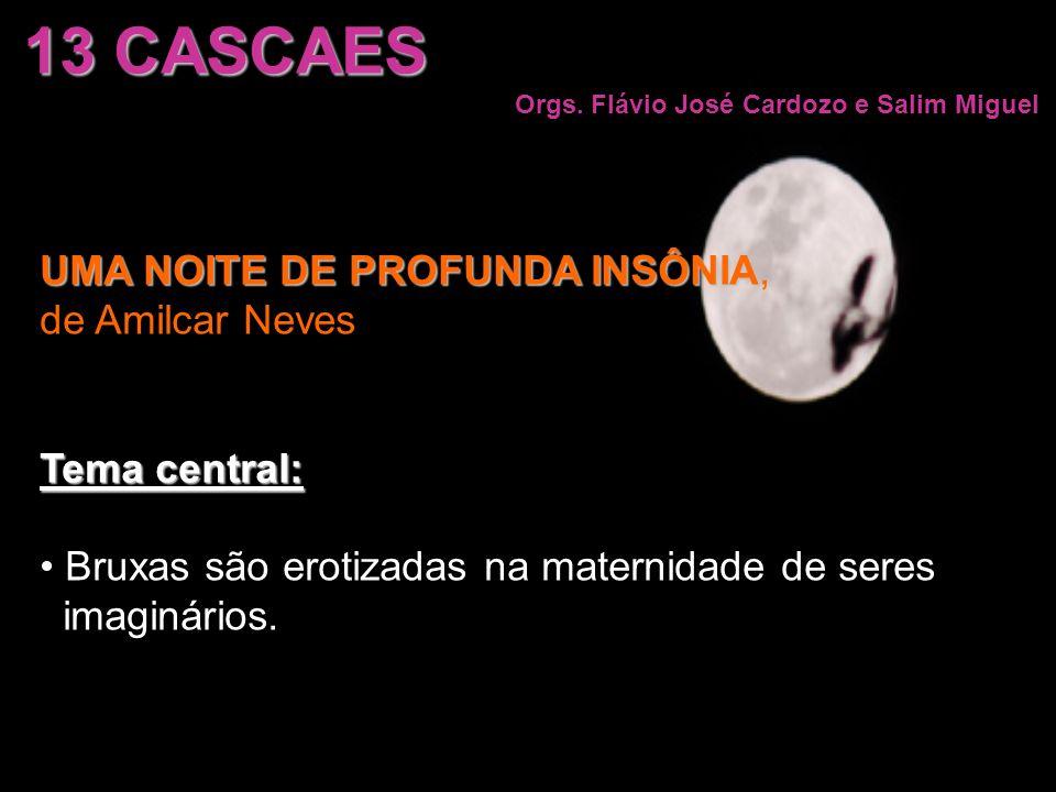 13 CASCAES UMA NOITE DE PROFUNDA INSÔNIA, de Amilcar Neves