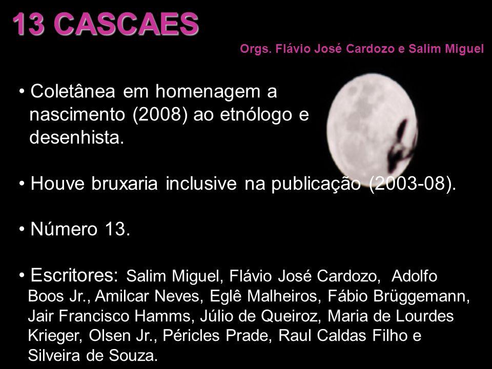 13 CASCAES Coletânea em homenagem a nascimento (2008) ao etnólogo e