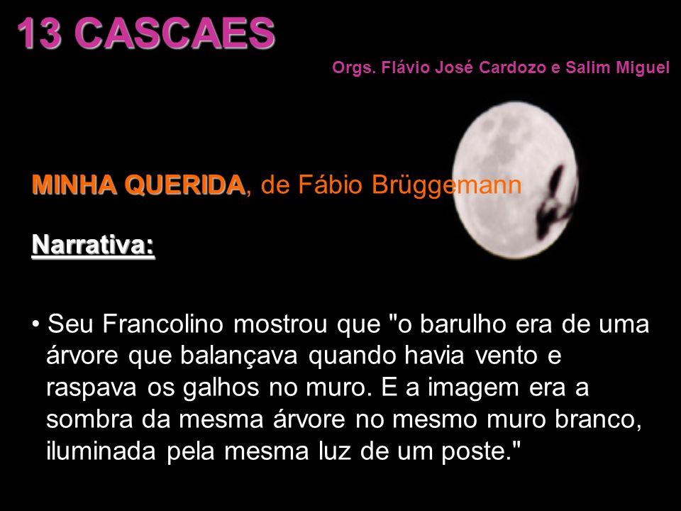 13 CASCAES MINHA QUERIDA, de Fábio Brüggemann Narrativa: