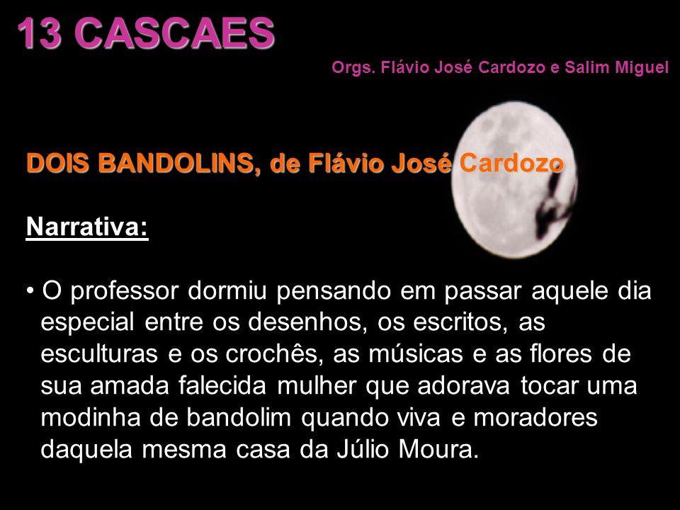 13 CASCAES DOIS BANDOLINS, de Flávio José Cardozo Narrativa: