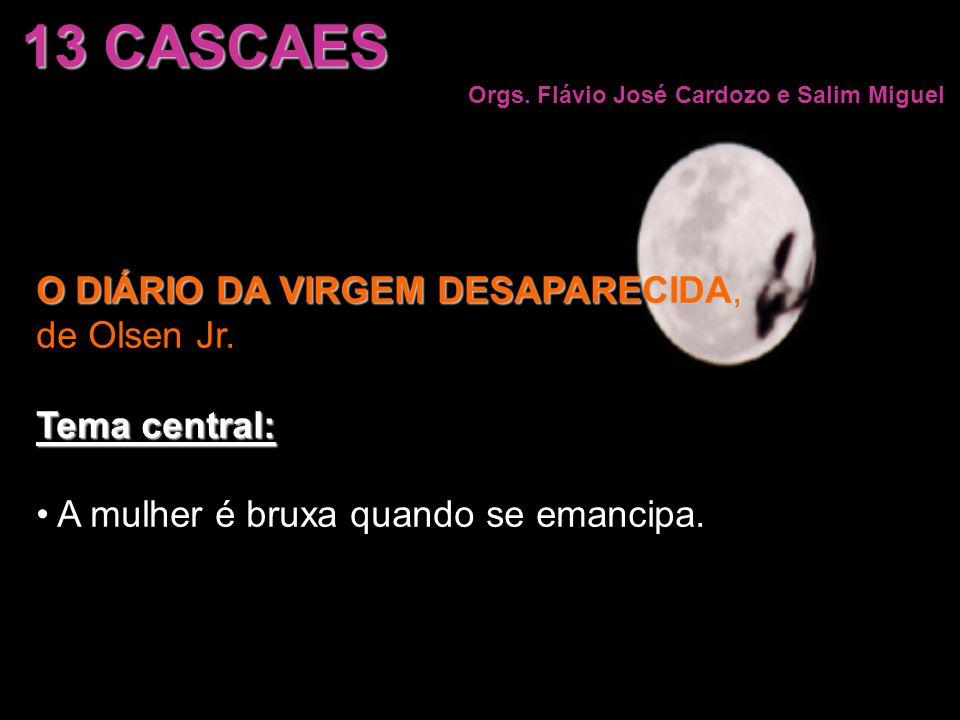 13 CASCAES O DIÁRIO DA VIRGEM DESAPARECIDA, de Olsen Jr. Tema central: