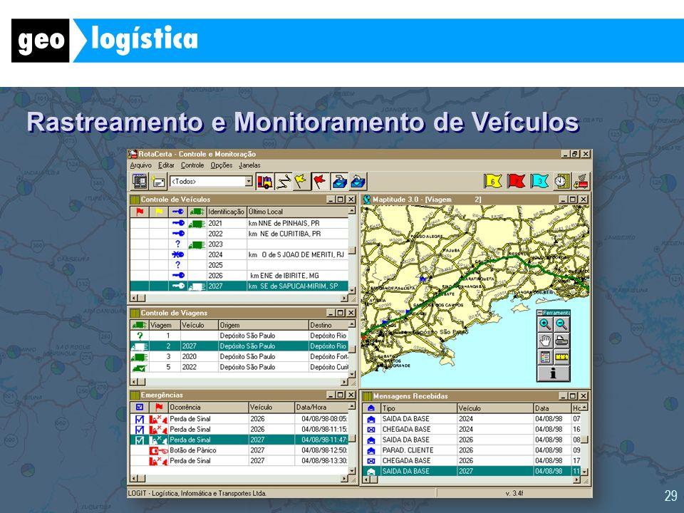 Rastreamento e Monitoramento de Veículos