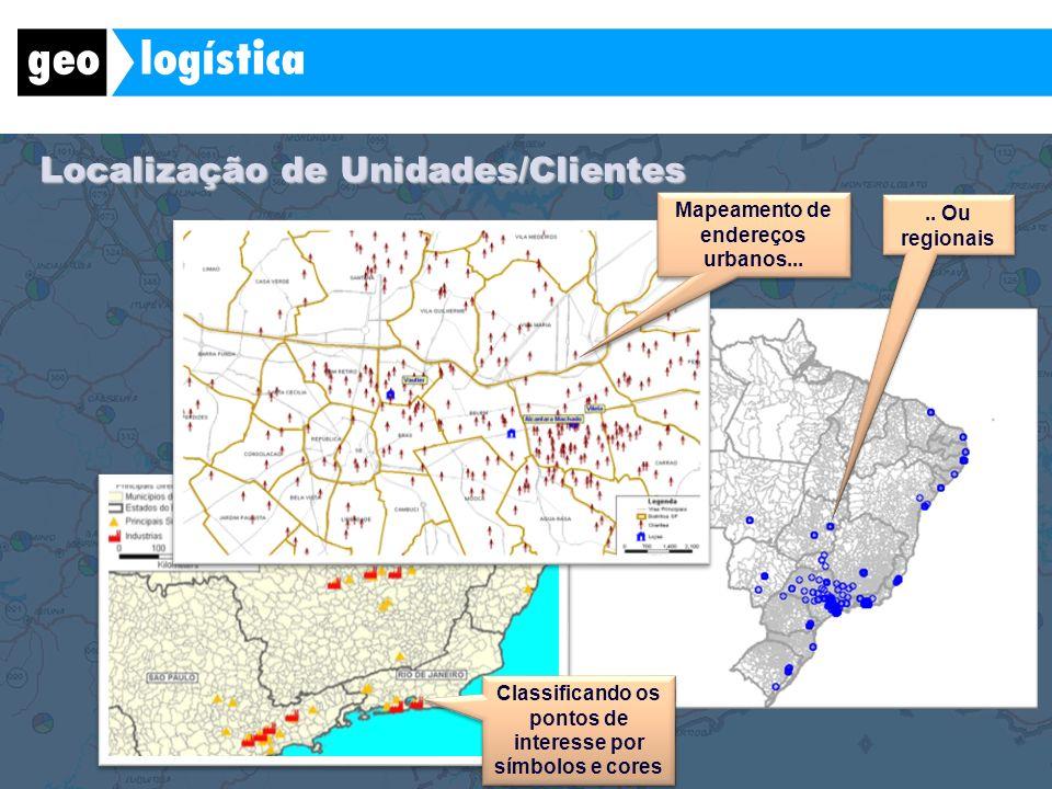 Localização de Unidades/Clientes