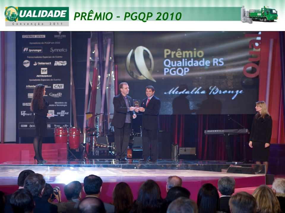 PRÊMIO – PGQP 2010