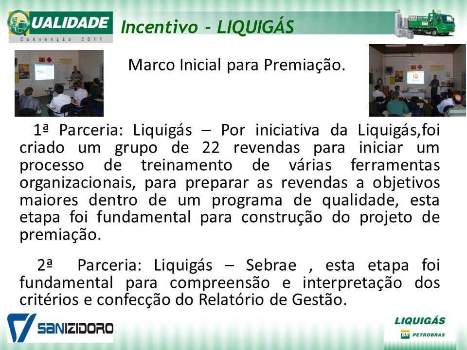 Incentivo - LIQUIGÁS Marco Inicial para Premiação.