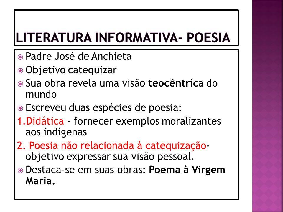 Literatura Informativa- Poesia