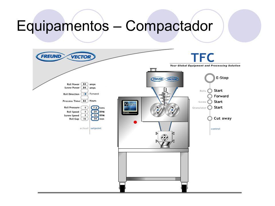 Equipamentos – Compactador