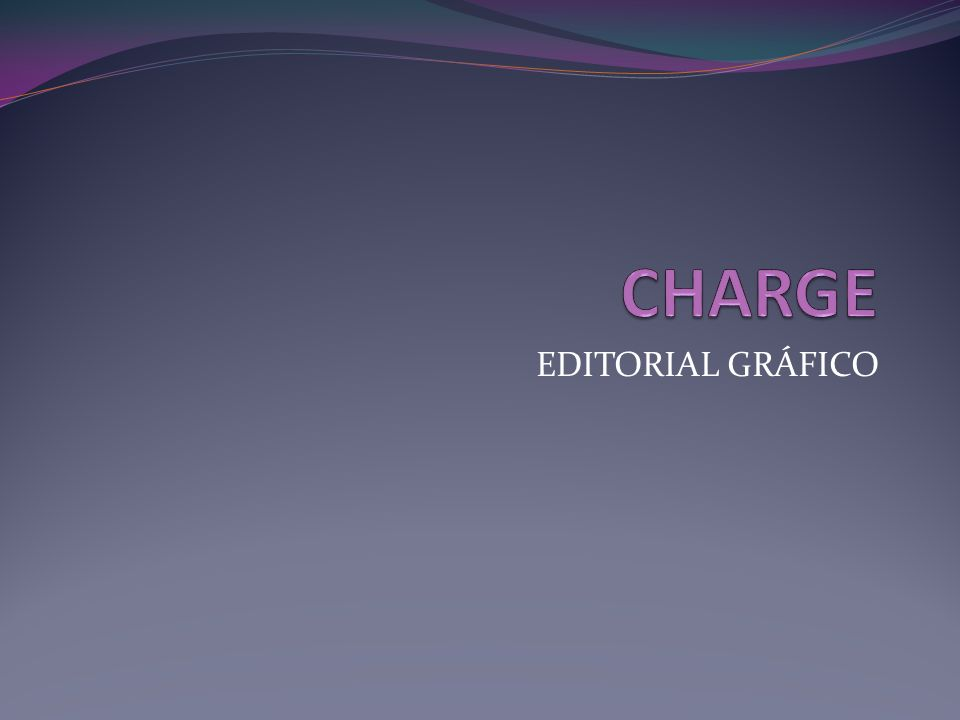 CHARGE EDITORIAL GRÁFICO