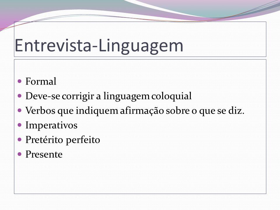 Entrevista-Linguagem