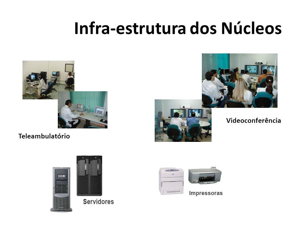 Infra-estrutura dos Núcleos
