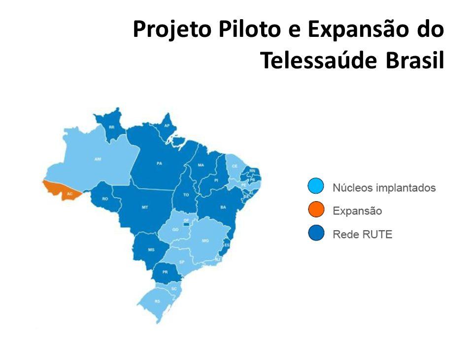 Projeto Piloto e Expansão do Telessaúde Brasil