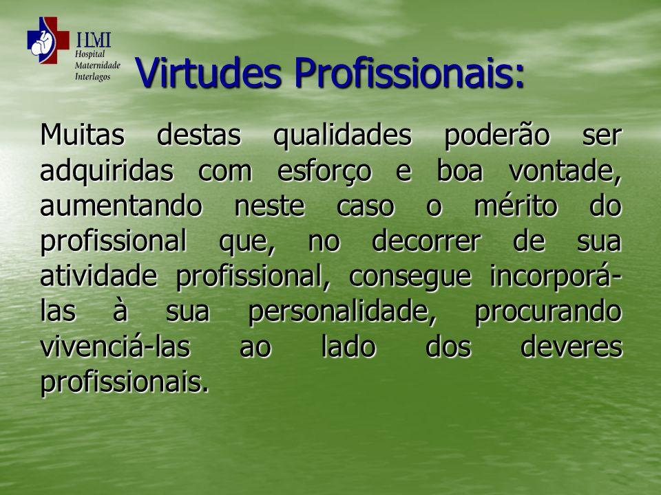 Virtudes Profissionais: