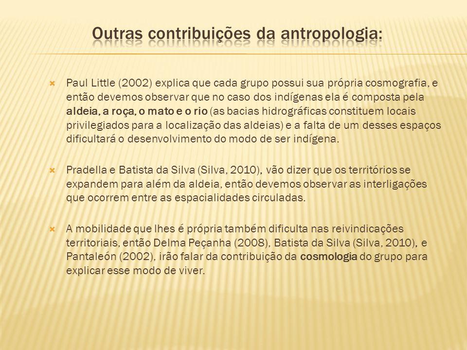 Outras contribuições da antropologia: