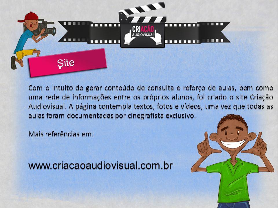 Site www.criacaoaudiovisual.com.br