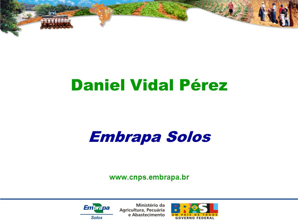 Embrapa Solos www.cnps.embrapa.br
