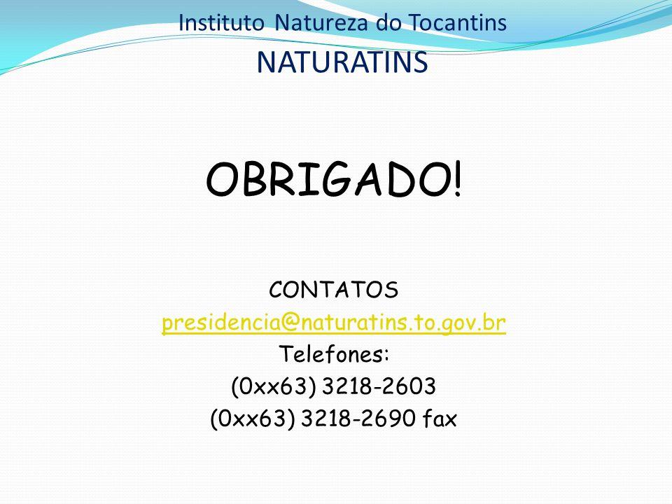 Instituto Natureza do Tocantins NATURATINS
